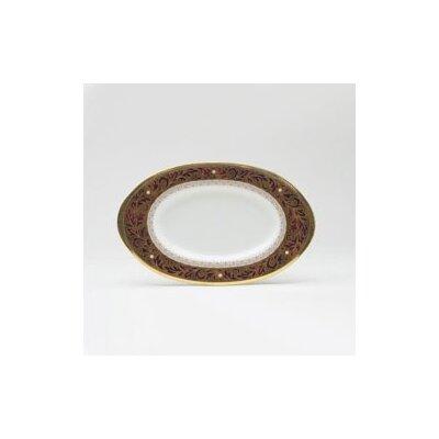 Noritake Xavier Gold Butter Dish
