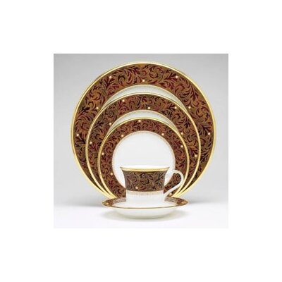 Noritake Xavier Gold 5 Piece Place Setting