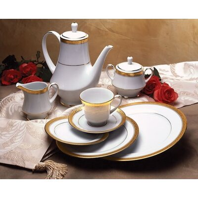 Crestwood Gold Dinnerware Collection by Noritake