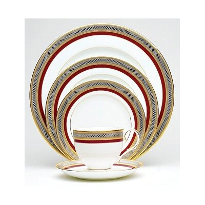 Ruby Coronet Dinnerware Collection by Noritake