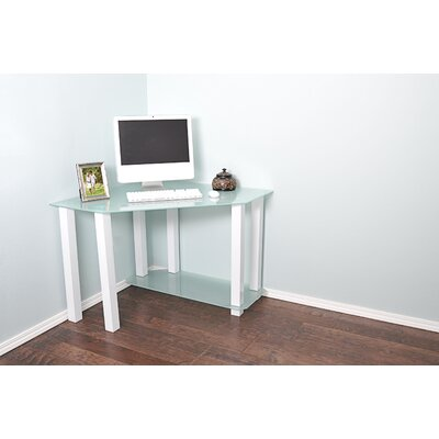 White Lines Corner Computer Desk by RTA Home And Office