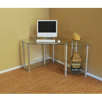 Computer Desk with Extension by RTA Home And Office