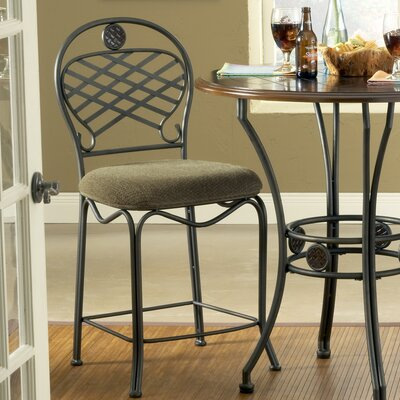 "Steve Silver Furniture Wimberly 24"" Bar Stool with Cushion"