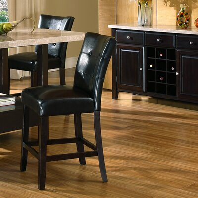 "Steve Silver Furniture Monarch 24"" Bar Stool with Cushion"