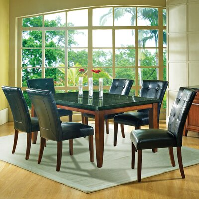 Steve Silver Furniture Granite Bello 7 Piece Dining Set