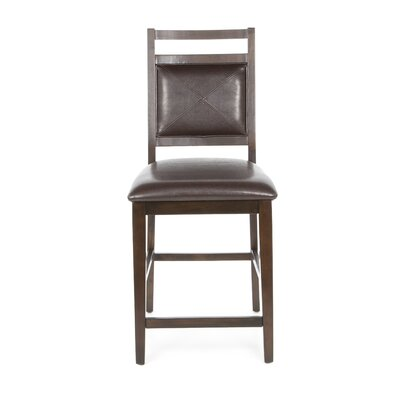 "Steve Silver Furniture Malbec 24"" Bar Stool with Cushion"