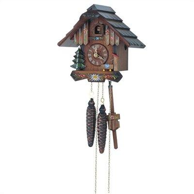 Flower Cuckoo Wall Clock by Schneider