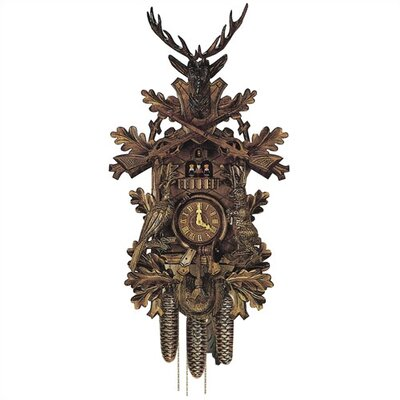Traditional 8 Day Movement Cuckoo Wall Clock by Schneider