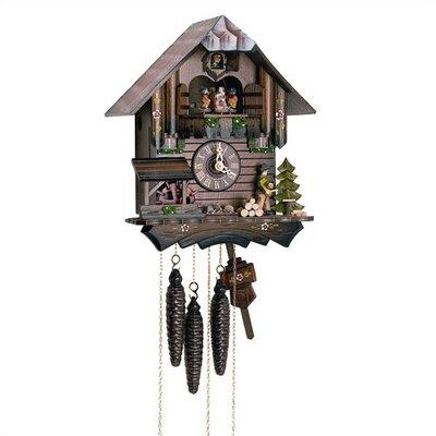 Chalet Cuckoo Wall Clock by Schneider