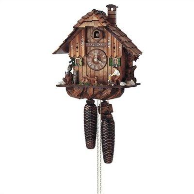 8 Day Movement Cuckoo Wall Clock by Schneider