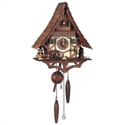Quartz Movement Cuckoo Wall Clock by Schneider