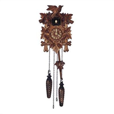 Traditional Quartz Cuckoo Wall Clock by Schneider