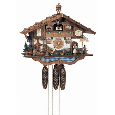 Bavarian Chalet Wall Clock by Schneider