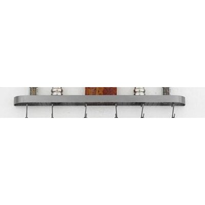 Sterling Wall Mounted Pot Rack by Hi-Lite