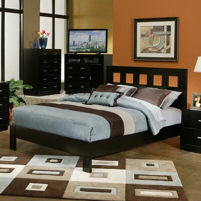 Manhattan Platform Bed by Alpine Furniture