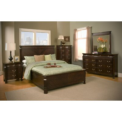 Windsor Panel Customizable Bedroom Set by Alpine Furniture