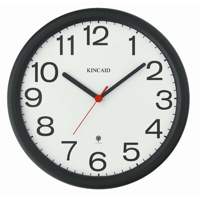 "Kincaid Clocks 12"" Radio-Controlled Wall Clock"