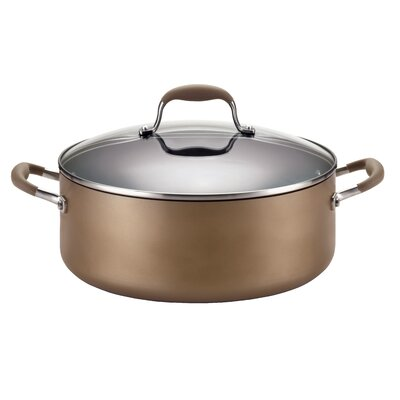 Advanced 7.5 Qt. Stock Pot with Lid by Anolon