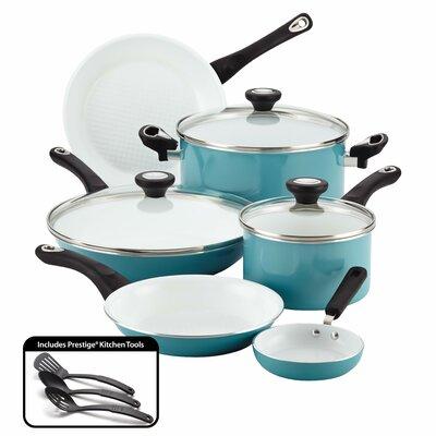 Ceramic Cookware Nonstick 12 Piece Cookware Set by Farberware