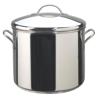 Classic Stainless Steel Stock Pot with Lid by Farberware