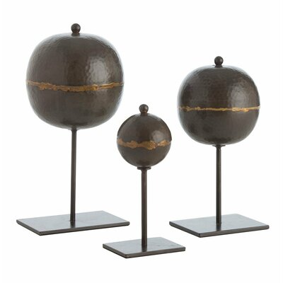 3 Piece Rocco Sculpture by ARTERIORS Home