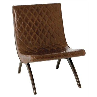 Danforth Quilted Leather Side Chair by ARTERIORS Home