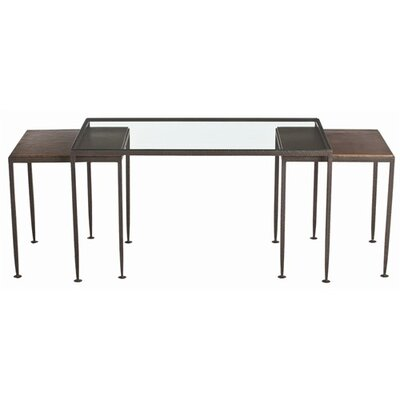 Knight Waxed Hammered Iron Nesting Cocktail Tables by ARTERIORS Home