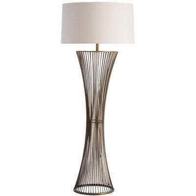 hunt home repeat 54 5 floor lamp reviews wayfair. Black Bedroom Furniture Sets. Home Design Ideas
