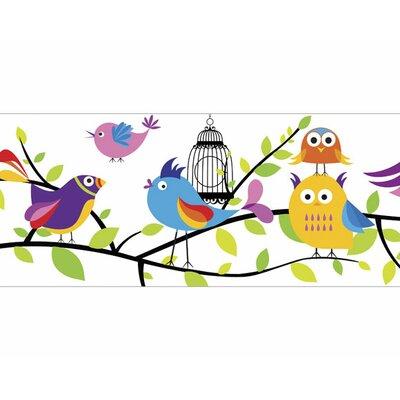 "4 Walls Tweety Pie 15' x 9"" Wildlife Border Wallpaper"