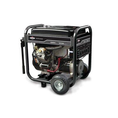 Elite Series 12,500 Watt Gasoline Generator with Electric Start by Briggs & Stratton