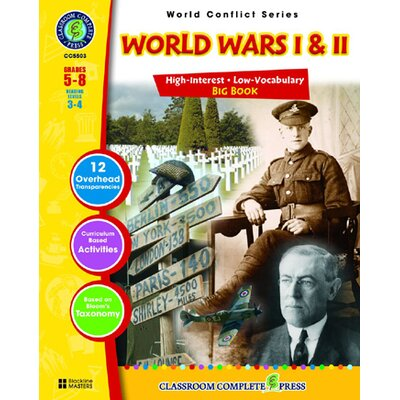 Classroom Complete Press World Conflict Series World Wars I Book