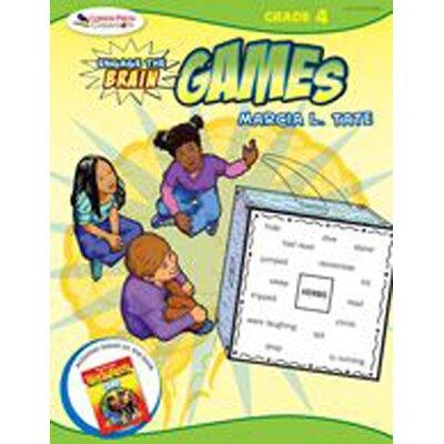 Corwin Press Engage The Brain Games Grade 4 Book