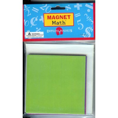 Dowling Magnets Magnet Fraction Squares Learning Tool