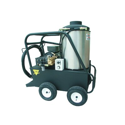 Q Series 1000 PSI Hot Water Electric Pressure Washer by Cam Spray