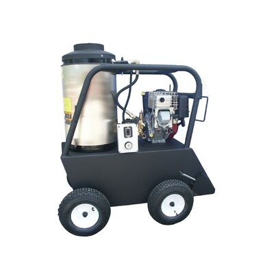 Q Series 4000 PSI Hot Water Gas Pressure Washer by Cam Spray