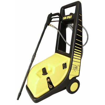 1450 PSI Cold Water Electric Roto Cart Pressure Washer by Cam Spray