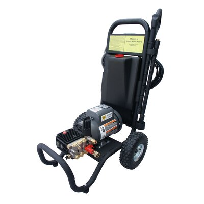 1500 PSI Cold Water Electric Tube Cart Pressure Washer by Cam Spray