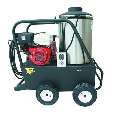 Q Series 3000 PSI Diesel Hot Water Gas Pressure Washer by Cam Spray