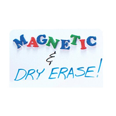 Flipside Dry Erase Magnetic Lap Board Whiteboard, 2' x 2'