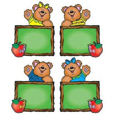 Frank Schaffer Publications/Carson Dellosa Publications Chalkboard Bears Assorted Bulletin Board Cut Out