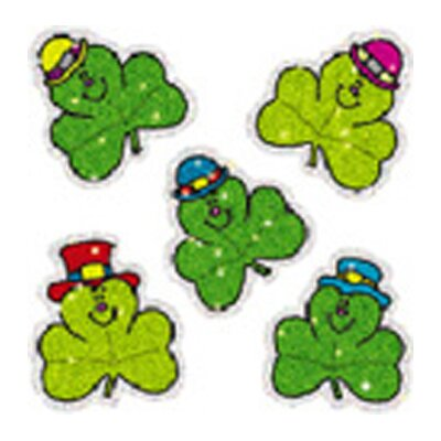 Frank Schaffer Publications/Carson Dellosa Publications Dazzle Shamrocks Sticker