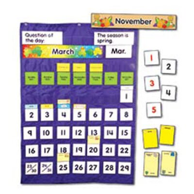Frank Schaffer Publications/Carson Dellosa Publications Complete and Weather Pocket Calendar