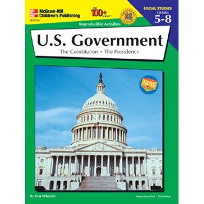 Frank Schaffer Publications/Carson Dellosa Publications Us Government 100+ Grade 5-8 Book