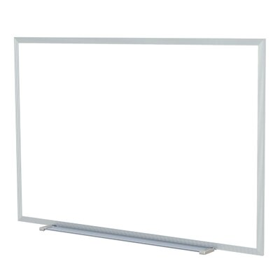 Ghent Aluminum Frame Painted Steel Magnetic Whiteboard