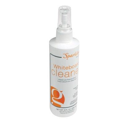 Ghent 8 oz Spray Bottle of Sparkleen Whiteboard Cleaner - 12 Per Carton