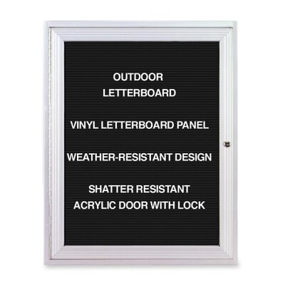 Ghent Outdoor Enclosed Letter Board, 3' x 2'