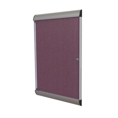 Ghent Silhouette Enclosed Bulletin Board 3' x 2'