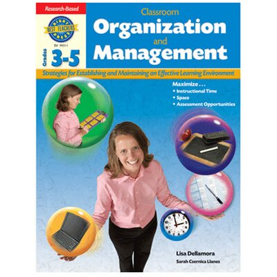 Houghton Mifflin Harcourt Grade 3-5 Classroom Organization Book