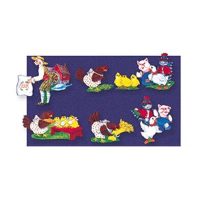 Little Folks Visuals Little Red Hen Bulletin Board Cut Out