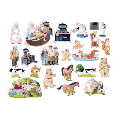 Little Folks Visuals Gingerbread Boy Bulletin Board Cut Out
